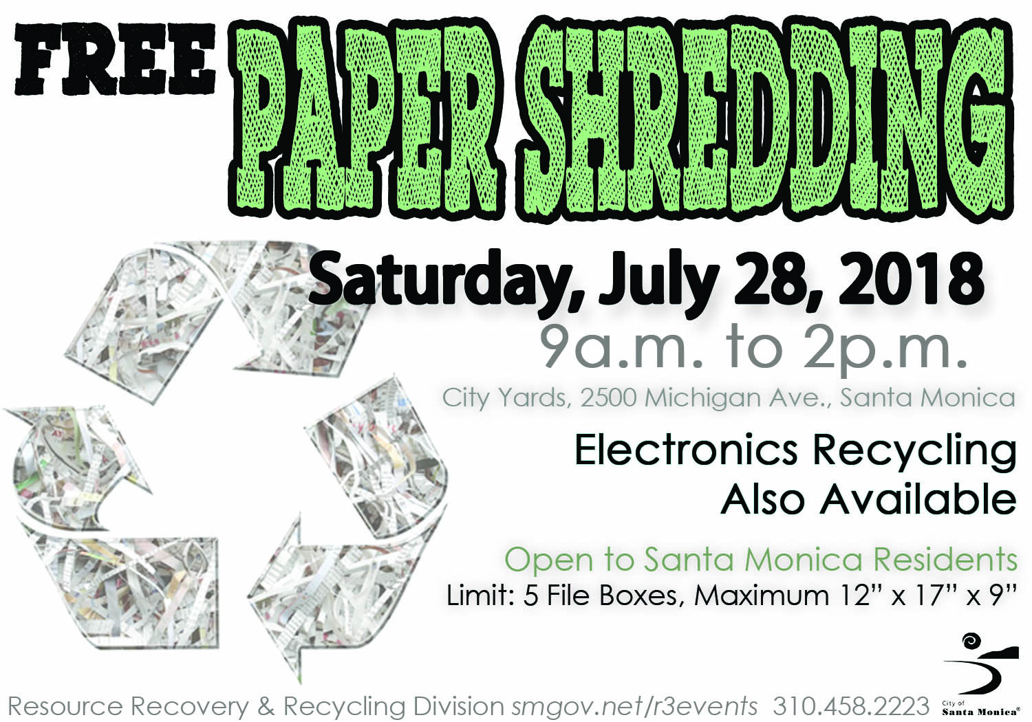 07-28-18 Paper Shredding